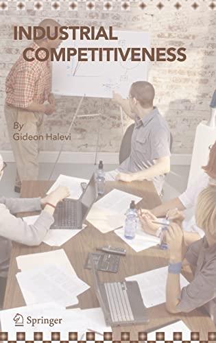 Industrial Competitiveness: Cost Reduction (Hardback): Gideon Halevi