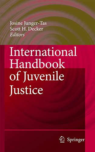 International Handbook of Juvenile Justice: Josine Junger-Tas