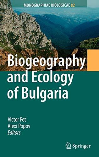 Biogeography and Ecology of Bulgaria (Hardback)