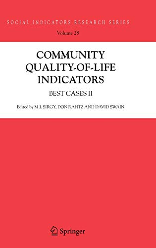 Community Quality-of-Life Indicators Best Cases II Social Indicators Research Series
