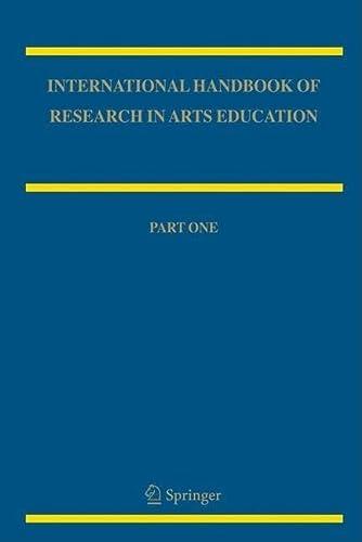 9781402048579: International Handbook of Research in Arts Education 2-volume set (Springer International Handbooks of Education)