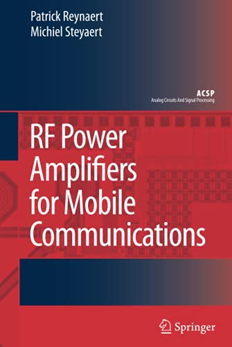9781402051166: RF Power Amplifiers for Mobile Communications (Analog Circuits and Signal Processing)