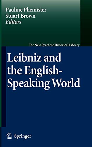 9781402052422: Leibniz and the English-Speaking World (The New Synthese Historical Library)