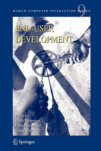 9781402053092: End User Development (Human–Computer Interaction Series)