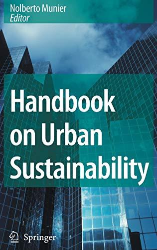 9781402053504: Handbook on Urban Sustainability