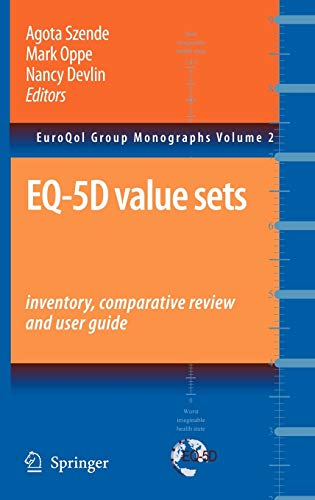 9781402055102: EQ-5D Value Sets: Inventory, Comparative Review and User Guide (EuroQol Group Monographs)