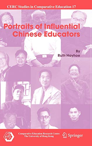 9781402055676: Portraits of Influential Chinese Educators (CERC Studies in Comparative Education)