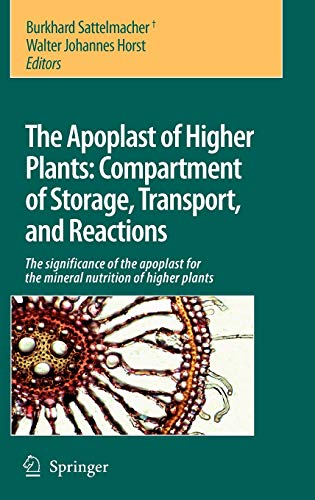 The Apoplast of higher plants: Compartment of Storage, Transport and Reactions: Burkhard ...