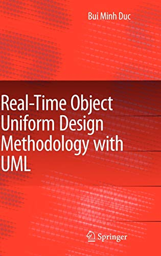 9781402059766: Real-Time Object Uniform Design Methodology with UML