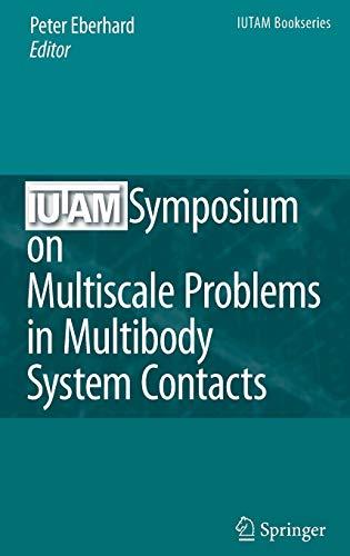 IUTAM Symposium on Multiscale Problems in Multibody System Contacts: Peter Eberhard