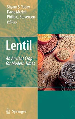 Lentil: An Ancient Crop for Modern Times: Springer
