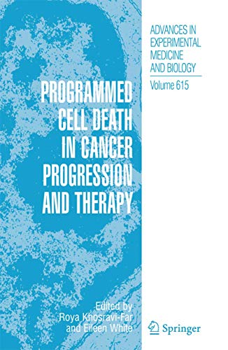 Programmed Cell Death in Cancer Progression and Therapy: Roya Khosravi-Far