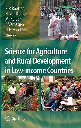 Science for Agriculture and Rural Development in: Editor-Reimund Roetter; Editor-Herman