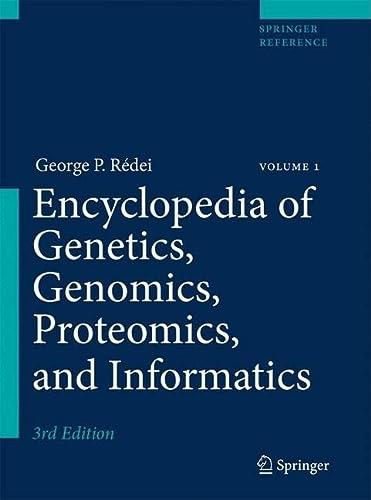 9781402067556: Encyclopedia of Genetics, Genomics, Proteomics, and Informatics