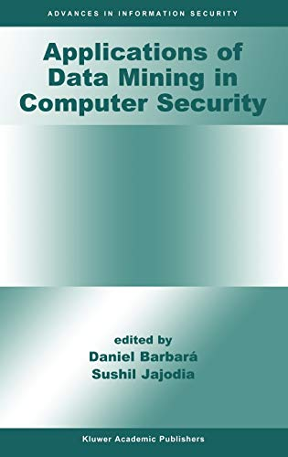 9781402070549: Applications of Data Mining in Computer Security (Advances in Information Security)