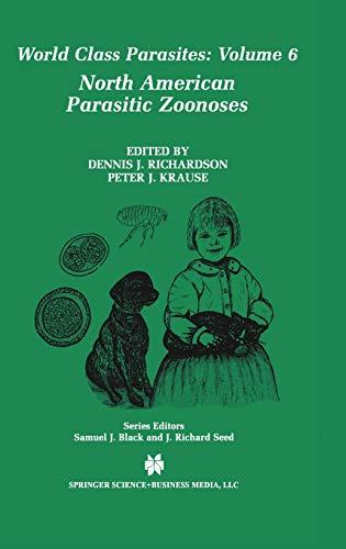 North American Parasitic Zoonoses (Hardback)