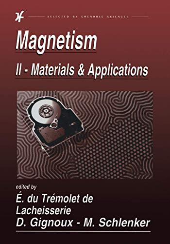 9781402072239: Magnetism: II-Materials and Applications: v. 2