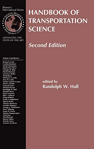 9781402072468: Handbook of Transportation Science (International Series in Operations Research & Management Science)