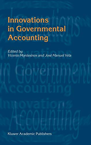 9781402072888: Innovations in Governmental Accounting