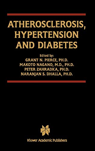 Atherosclerosis, Hypertension and Diabetes: Grant Pierce