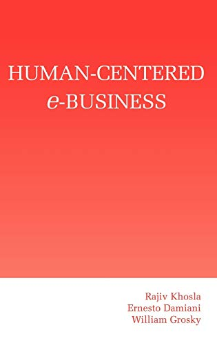 9781402074424: Human-Centered e-Business