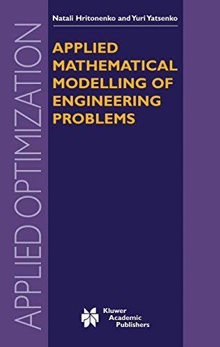 9781402074844: Applied Mathematical Modelling of Engineering Problems (Applied Optimization)