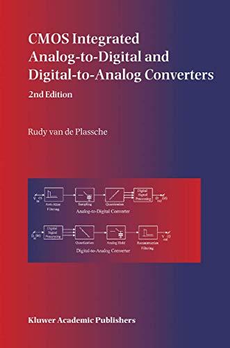 CMOS Integrated Analog-to-Digital and Digital-to-Analog Converters: Rudy J. van