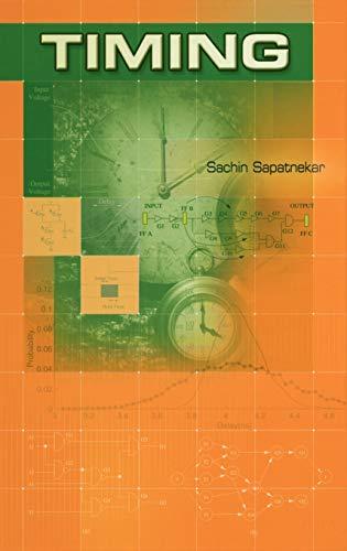 Timing: Sachin Sapatnekar