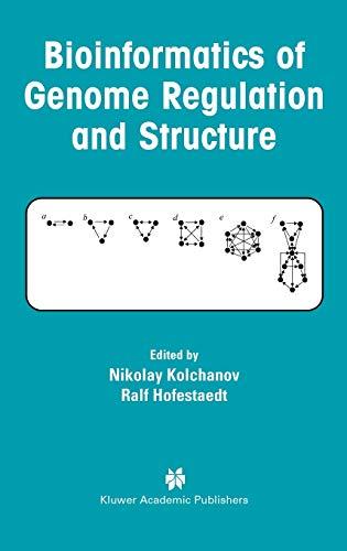 9781402077357: Bioinformatics of Genome Regulation and Structure