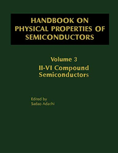 Handbook on Physical Properties of Semiconductors (Hardback): Sadao Adachi