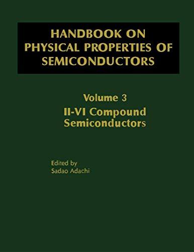 Handbook on Physical Properties of Semiconductors (Hardback): Sadao Adachi
