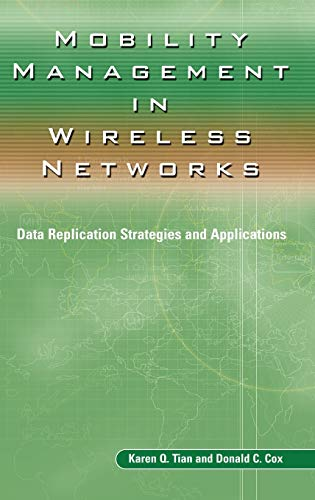 9781402078965: Mobility Management in Wireless Networks: Data Replication Strategies and Applications (Ercoftac S)