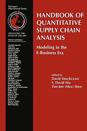 9781402079535: Handbook of Quantitative Supply Chain Analysis: Modeling in the E-Business Era (International Series in Operations Research & Management Science)