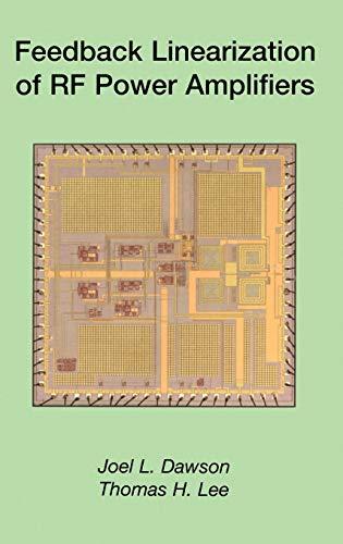 9781402080616: Feedback Linearization of RF Power Amplifiers