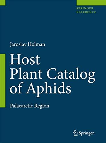 Host Plant Catalog of Aphids (Hardback): Jaroslav Holman