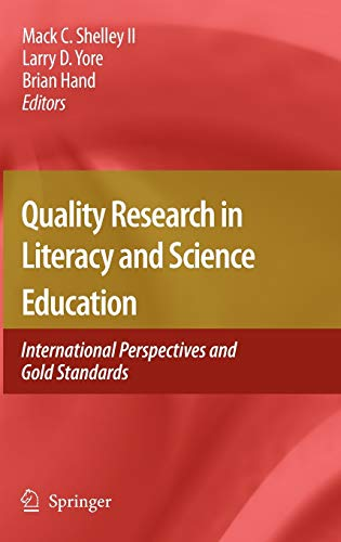 Quality Research in Literacy and Science Education: