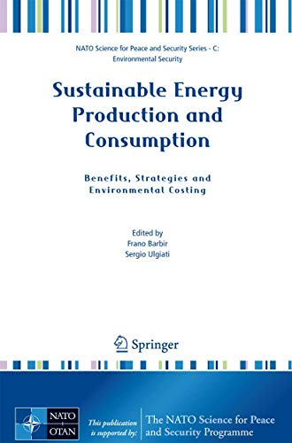 Sustainable Energy Production and Consumption: Frano Barbir