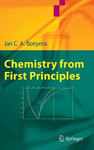 9781402085451: Chemistry from First Principles