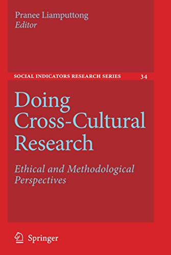 9781402085666: Doing Cross-Cultural Research: Ethical and Methodological Perspectives (Social Indicators Research Series)