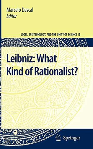 Leibniz: What Kind of Rationalist? (Hardback)