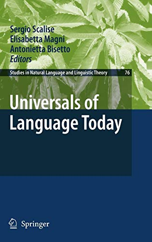 9781402088247: Universals of Language Today (Studies in Natural Language and Linguistic Theory)