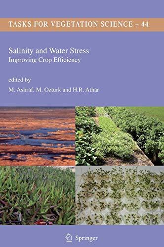 Salinity and Water Stress: Improving Crop Efficiency: Ashraf, M. M.