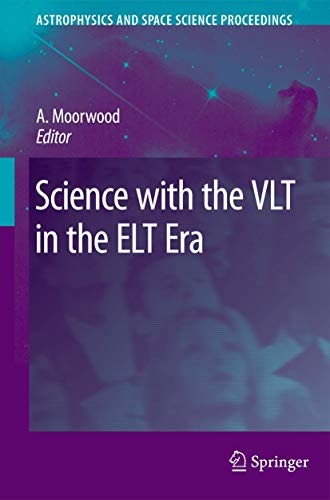 Science with the VLT in the ELT Era: Alan F. M. Moorwood