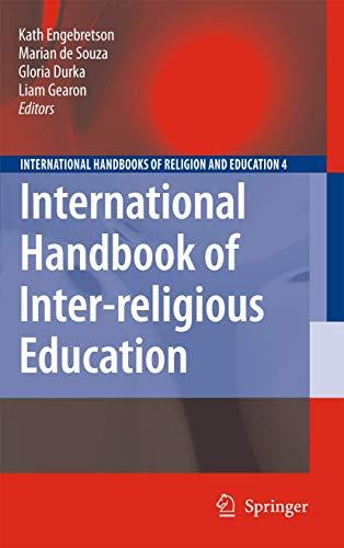 9781402092732: International Handbook of Inter-religious Education (International Handbooks of Religion and Education)