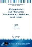9781402094187: Metamaterials and Plasmonics: Fundamentals, Modelling, Applications