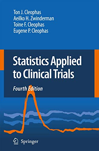 9781402095221: Statistics Applied to Clinical Trials