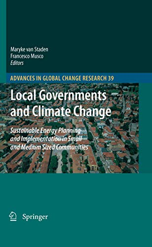 Local Governments and Climate Change: Maryke van Staden