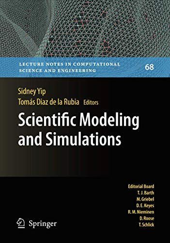 9781402097409: Scientific Modeling and Simulations (Lecture Notes in Computational Science and Engineering)
