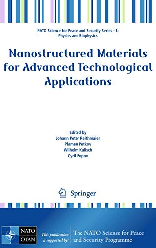 Nanostructured Materials for Advanced Technological Applications (Hardback)