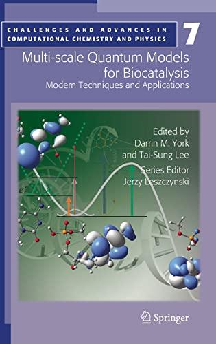 Multi-scale Quantum Models for Biocatalysis (Hardback)